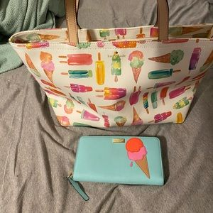 Kate Spade flavor of the month bag and wallet